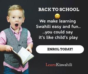 learn kiswahili childs play